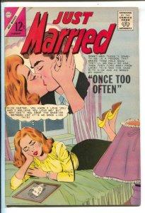 Just Married #40 1965-Charlton-jealousy-higher grade-FN