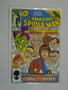 Amazing Spider-Man #274 Direct edition 6.0 FN (1986 1st Series)
