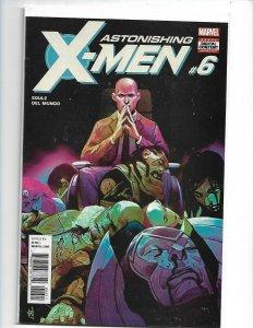 Astonishing X-Men #6A Del Mundo Variant NM 2018    nw111