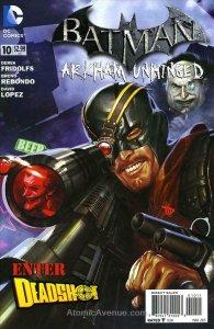 Batman: Arkham Unhinged #10 VF/NM; DC   save on shipping - details inside