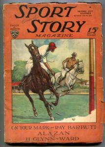 Sport Story Pulp July 22 1929- POLO COVER