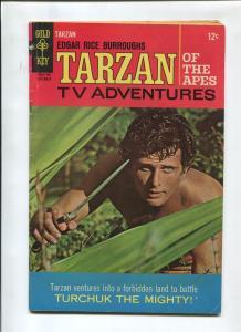 TARZAN #171 1967-GOLD KEY-EDGAR RICE BURROUGHS-VG