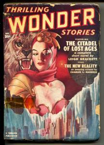 Thrilling Wonder Stories-Pulp-12/1950-Cleve Cartmill-Leigh Brackett