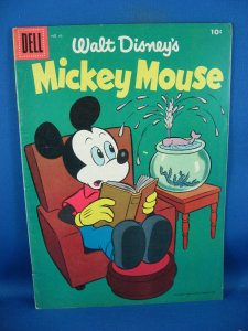MICKEY MOUSE 45 F 1956