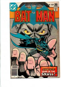 Batman #289 newsstand - 1st Skull Dugger - 1977 - Fine/Very Fine