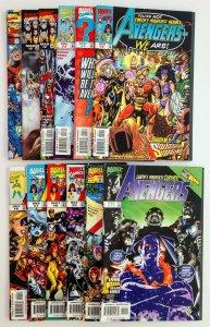 Avengers V3 1-11 12LOT, HIGH GRADE