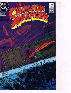 Lot of 3 The Crimson Avenger DC Comic Books # 2 3 4 Super Heroes AD40
