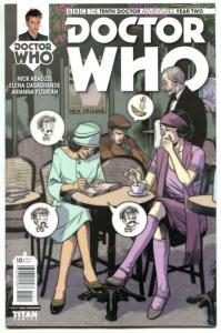DOCTOR WHO #10 A, NM, 10th, Tardis, 2015, Titan, 1st, more DW in store, Sci-fi