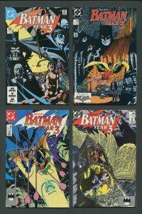 Batman #436 #437 #438 #439 (Year Three Set / 1st Tim Drake)  1989