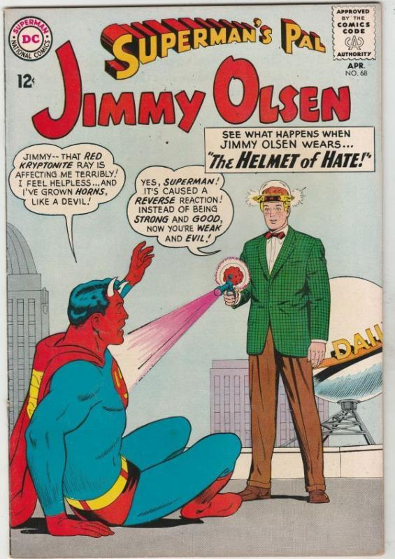 Superman's Pal Jimmy Olsen #68 strict VF+ 8.5 High-Grade  Appear- Braniac   Boca