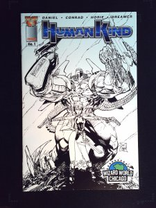Humankind #1 Wizard World Chicago Variant Cover (2004)