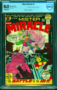 Mister Miracle #8 CBCS VF 8.0 Off White to White DC Comics