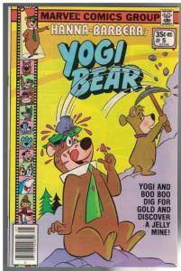 YOGI BEAR (1977 MARVEL) 5 VF+ July 1978