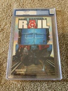Rail: Broken Things #1 CGC 9.8 Nov 2001, Image Comics) Dave Dorman