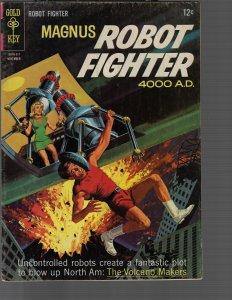 Magnus Robot Fighter #12 (Dell, 1965) VG/FN