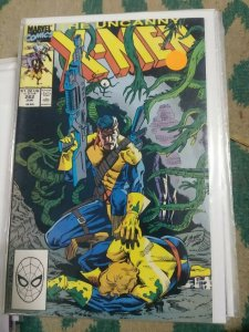 UNCANNY X-MEN #262 1990 MARVEL  JEAN GRAY FORGE SCARY MONSTERS