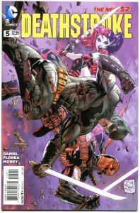 DEATHSTROKE #5, VF+, Harley Quinn, 2014,New 52, Variant, Batman,more HQ in store