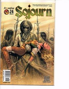 Crossgen Comics Sojourn #24 Greg Land Art Ron Marz Story