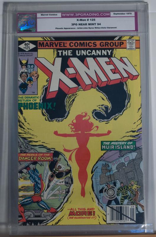 X-MEN #125, 3PG / CGC 9.4 NM, Phoenix, Wolverine,John Byrne, more in store
