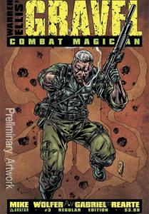 Gravel: Combat Magician #3 VF/NM; Avatar | save on shipping - details inside