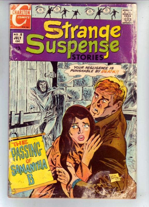 Strange Suspense Stories #8 (Jul-69) GD Affordable-Grade