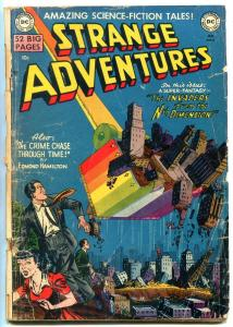 STRANGE ADVENTURES #4-INVADERS FROM THE NTH DIMENSION G