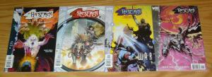 Four Horsemen #1-4 VF/NM complete series ROBERT RODI essad ribic - vertigo comic