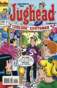 Archie's Pal Jughead Comics #169 VF/NM; Archie | save on shipping - details insi