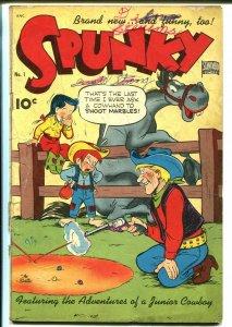 Spunky #1 1949-Standard-1st issue-Frazetta-Jack Bradbury-G