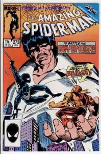 SPIDER-MAN #273, VF+/NM, Beyonder, Puma, Amazing, 1963, more ASM in store
