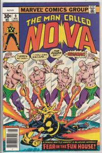 Nova, the Man Called #9 (May-77) NM/NM- High-Grade Nova