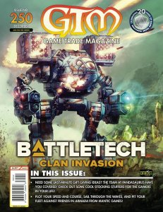 Game Trade Magazine #250 Battletech Clan Invasion (GTM, 2020) New!