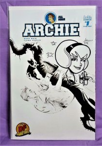 Mark Waid ALL NEW ARCHIE #1 DF Signed Remarked Ken Haeser (Dynamite, 2016)!