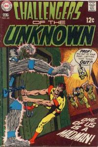 Challengers of the Unknown (1958 series) #68, Fine- (Stock photo)