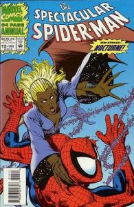 Spectacular Spider-Man (1976 series) Annual #13, NM + (Stock photo)