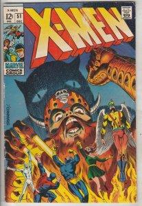 X-Men #51 (Dec-68) VG/FN Mid-Grade X-Men