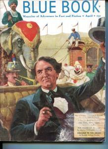 BLUE BOOK PULP-APRIL 1951-G/VG-BOWER COVER-PHINEAS T BARNUM-FOX-FURLONG G/VG