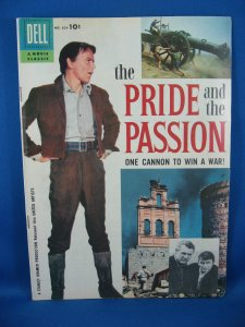 Four Color 824 THE PRIDE AND THE PASSION Fine Frank Sinatra Photo Cvr 1957