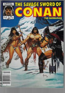 Savage Sword of Conan #121 (Marvel, 1986)
