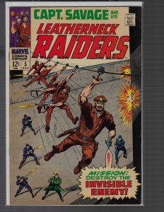 Captain Savage #5 (Marvel, 1968)