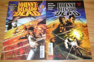 Johnny Delgado is Dead #1-2 VF/NM complete series image comics kompany set