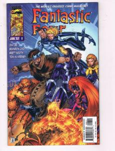 Fantastic Four #8 VF Marvel Comics Comic Book Lee Inhumans June 1997 DE23
