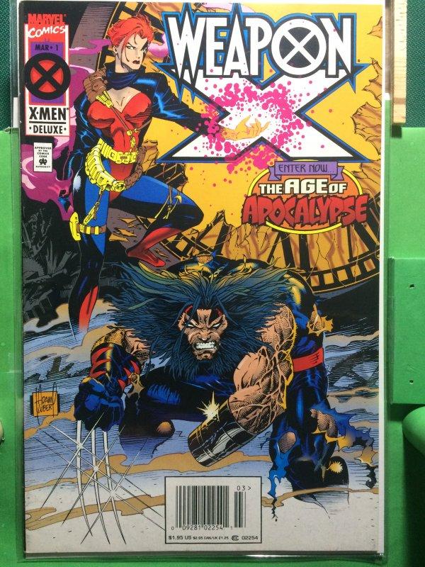 Weapon X #1 Age of Apocalypse
