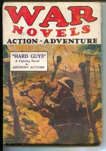 War Novels #16 5/1929-Dell-wwi barbed wire & trenches cover-JP Hughes Claws ...