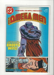 Omega Men #13 Broots Wife Copper Age DC Comics  VF