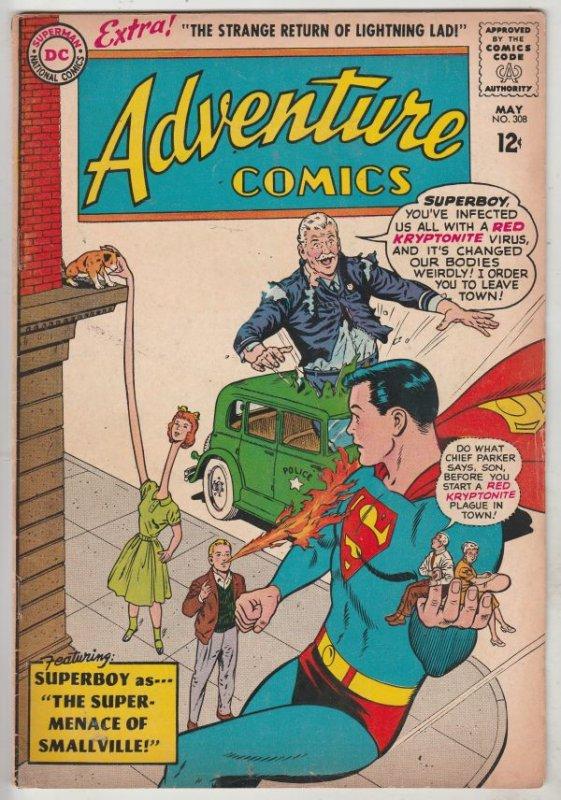 Adventure Comics #308 (May-63) FN+ Mid-High-Grade Legion of Super-Heroes