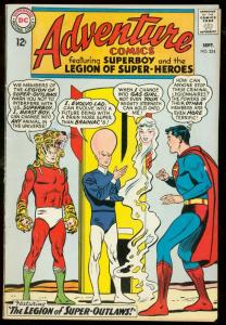ADVENTURE COMICS #324-SUPERBOY- SUPER-OUTLAWS TIGER cover-fine FN
