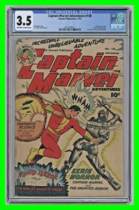 Captain Marvel Adventures #138 1952 Fawcett CGC 3.5