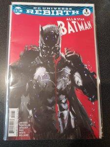 All Star: Batman #1 (October 2016) DC Universe Rebirth Jock Variant D.C. Comics