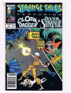 Strange Tales #2 VF Marvel Copper Age Comic Book Dr Strange May 1988 DE44